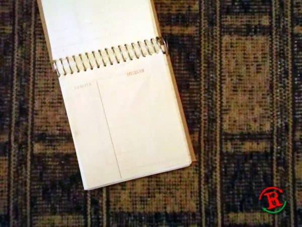 Renotes #13: Old Scheduler Into Notebook Recycling Paper & Books