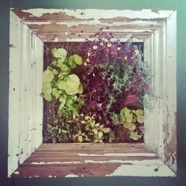 Scrap Wood Into Decorative Wood Frame Planters Wood & Organic
