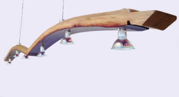 Seagull, Recycled Wine Barrel Stave Into Kitchen Island Light Lamps & Lights