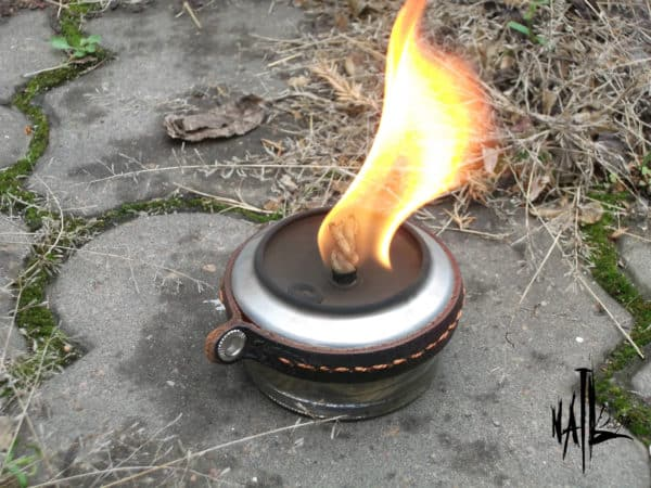 Alcohol Burner From Aluminum Can & Glass Jar (Diy) Do-It-Yourself Ideas