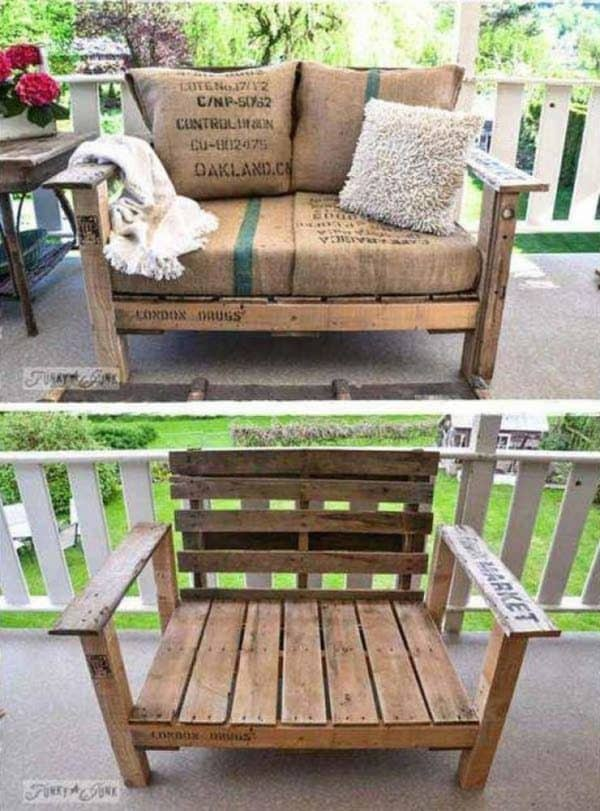 Beautiful Pallet Furniture You Can Materialize in a Weekend Do-It-Yourself Ideas Recycled Pallets