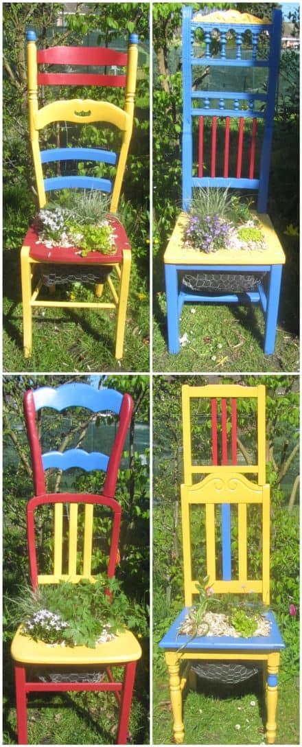 Chaise Végétalisée / Planter Chairs