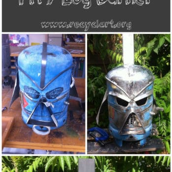 Diy Tutorial: Amazing Darth Vader Fire Pit / Log Burner
