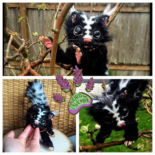 Handmade Animal From Recycled Clothing Clothing