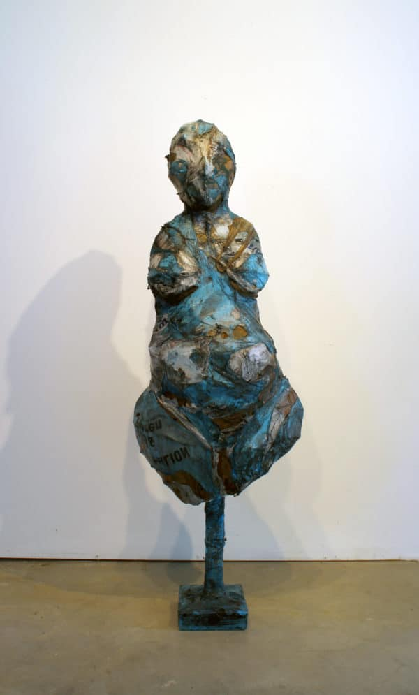 Sculptures Created From Melted Plastic Bags By Ryan Lytle Recycled Art Recycled Plastic