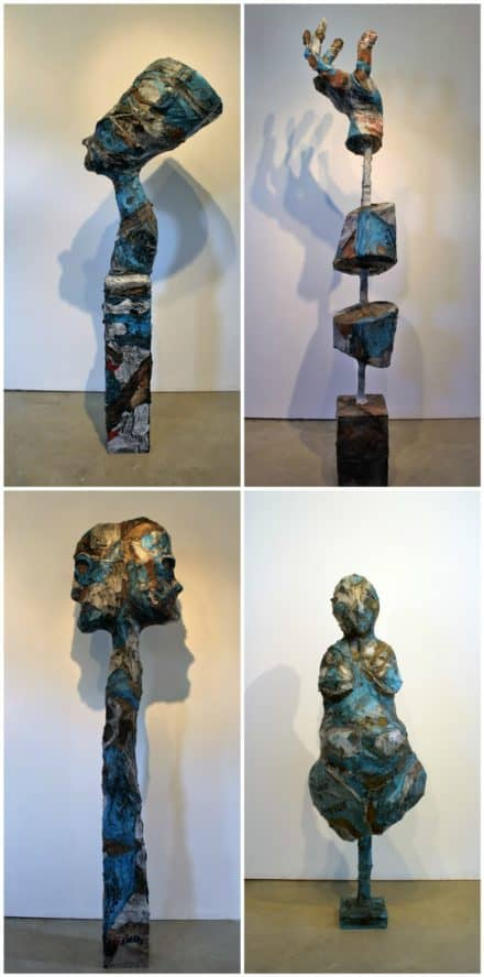 Sculptures Created From Melted Plastic Bags By Ryan Lytle