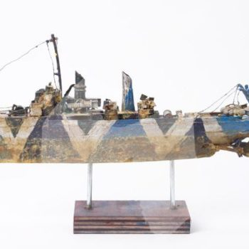 T.n.s. Anson Jones: Recycled Sculpture by Michael Horvath