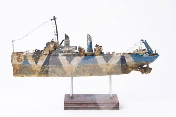 T.n.s. Anson Jones: Recycled Sculpture by Michael Horvath Recycled Art