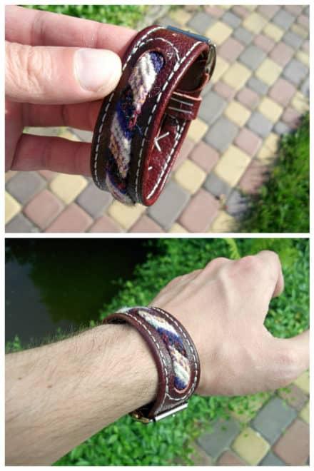 Bracelet From Scraps