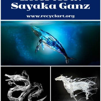 Recycled Art Interview #11: Sayaka Ganz