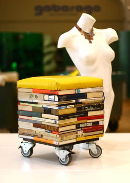 Books Into Stool
