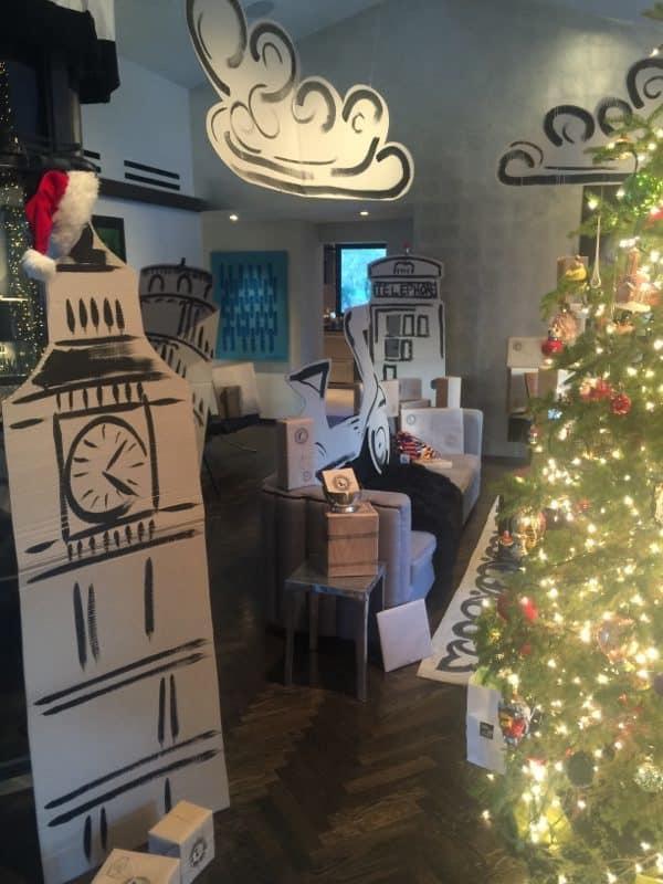 Cardboard Christmas Surprise Recycled Cardboard