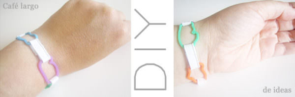 Cómo Crear Una Pulsera Con Gomas De Animales / Diy: Create a Bracelet with Animal Gums Do-It-Yourself Ideas