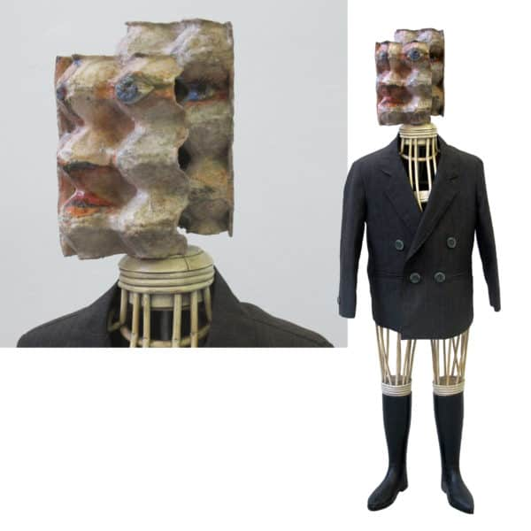 Eggcubism Exhibition At The Geiger Foundation Recycled Art