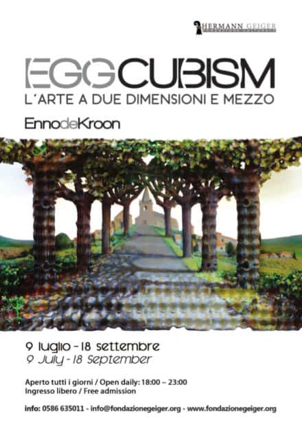Eggcubism Exhibition At The Geiger Foundation
