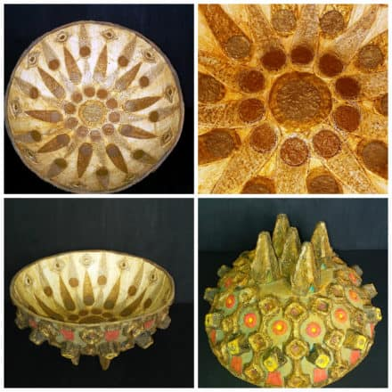Fractal: Bowl From Recycled Egg Carton