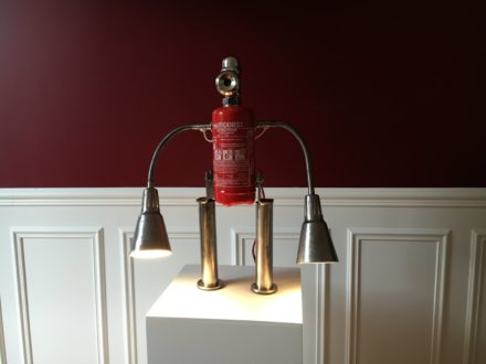 "Lamp ""Fire & Water"""