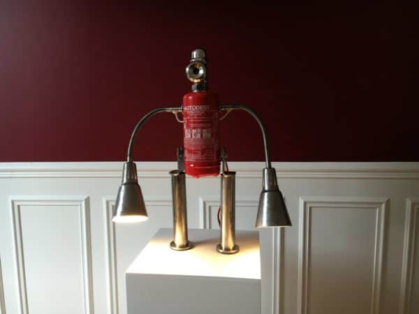 "Lamp ""Fire & Water"" Lamps & Lights"
