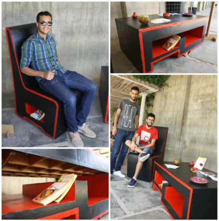 Mobilier En Carton / Cardboard Furniture