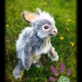 Thistle: The Recycled Clothing Bunny