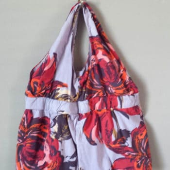 Diy From Dress To Unique Bag