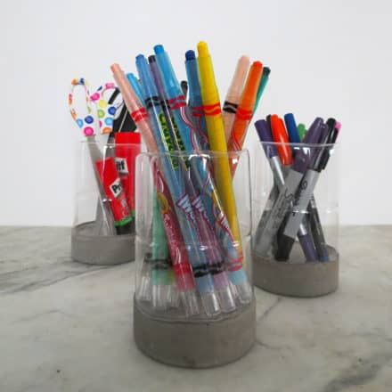 A Modern Pencil Holder