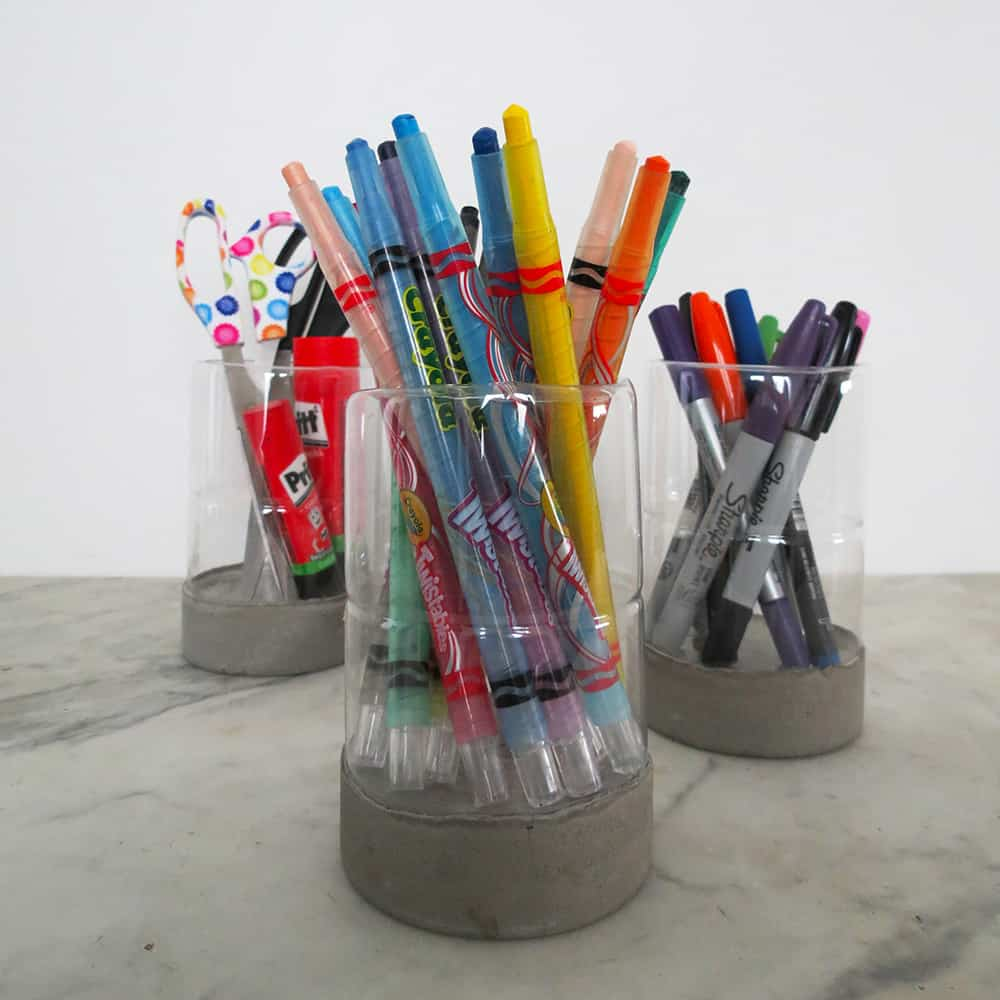 A Modern Pencil Holder • Recycled Ideas • Recyclart