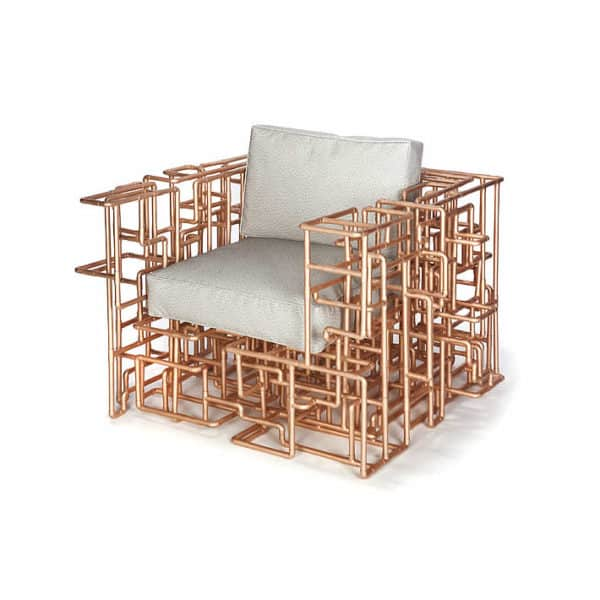 Amazing Copper Piping Chair by Brc Designs Recycled Furniture