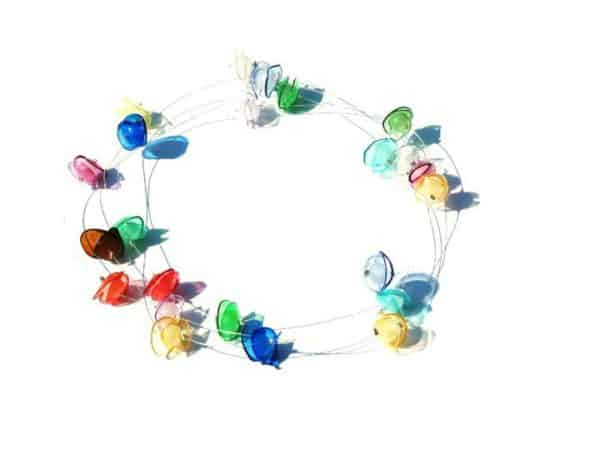 Blooming Jewels – Recycled Plastic Bottles into Amazing Jewelry Recycled Plastic Upcycled Jewelry Ideas