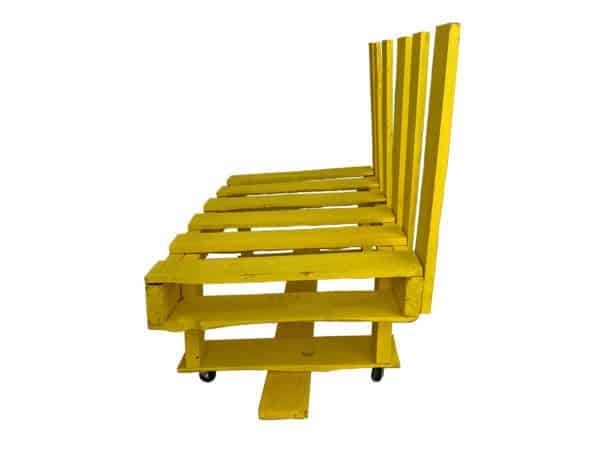 Diy: Waste Less 'rake-let' Pallet Chair Recycled Furniture Recycled Pallets