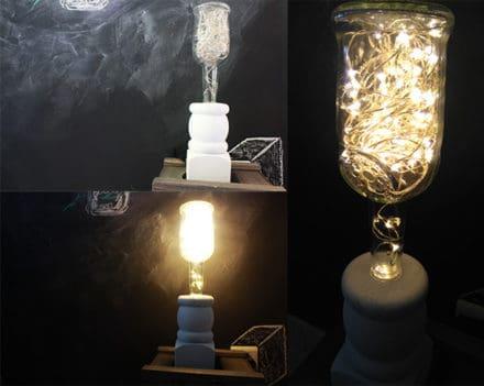 Fairy Bottle Lamps
