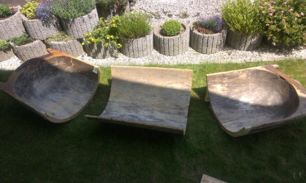 Rest In Pieces - Wood Table & Chairs Garden Ideas Wood & Organic