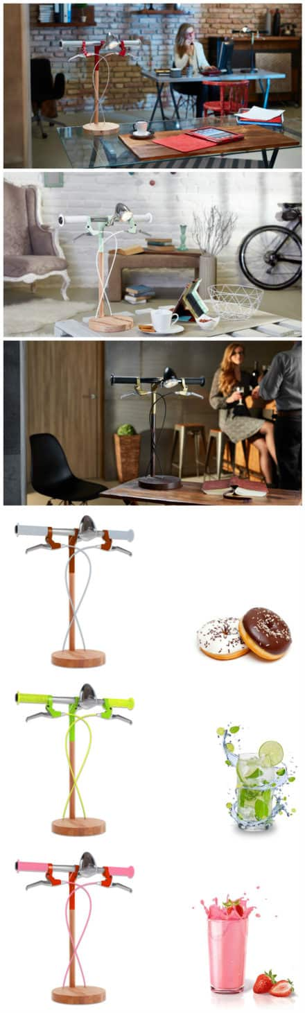 Bike Me Home – Industrial Kid Desk Lamps Bring Cycling Obsession To Your Desk