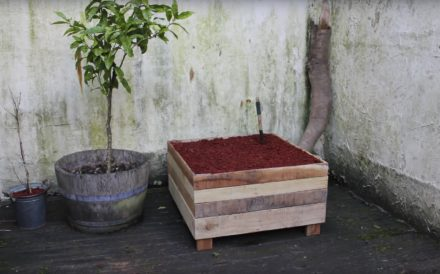Diy: How to Make a Pallet Wood Planter Box