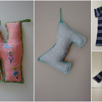 Textile Decorative Letters