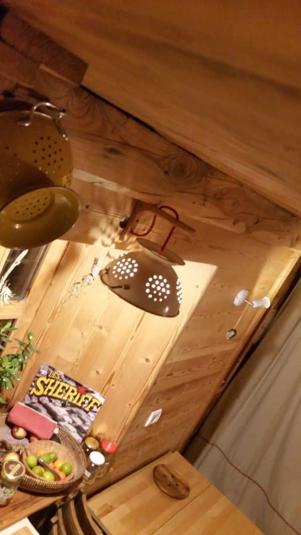 Pasta Lights From Upcycled Skateboards & Colander Lamps & Lights