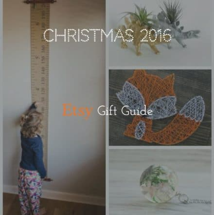 Recyclart 2016 Etsy Gift Guide!
