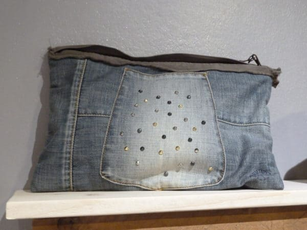 Fare Delle Borse Con Un Pantalone Di Jeans / Bags Out Of Upcycled Old Jeans Pants Clothing