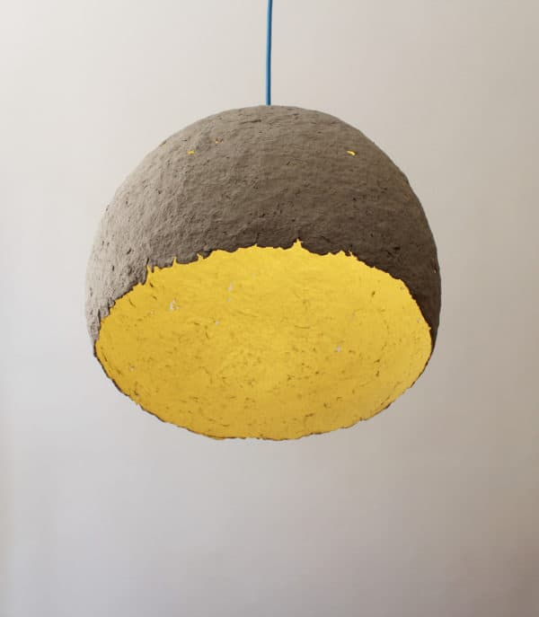 Lamp Made from Paper Waste - Globe Lamps & Lights