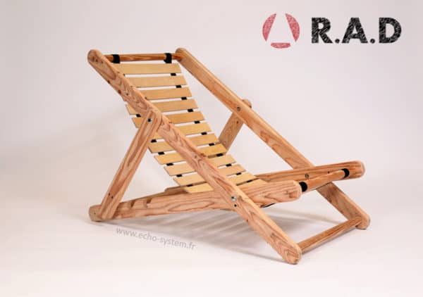 Pallet Wood & Bed Slats Upcycled into Comfortable Chair Recycled Furniture Recycled Pallets