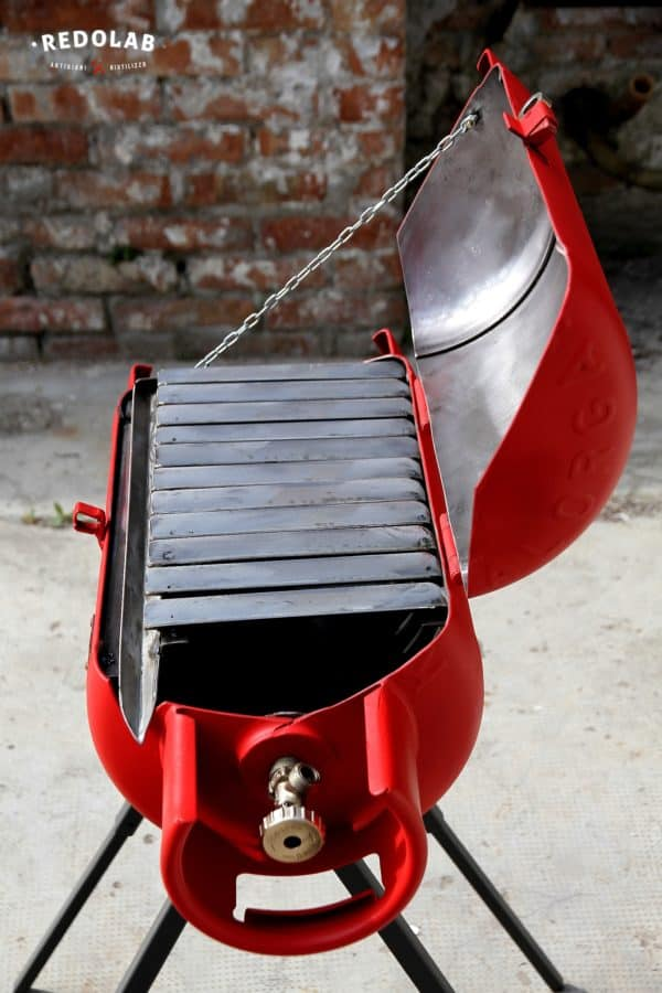 Paradox: Outdoor Bbq From An Old Gas Cylinder Garden Ideas Recycling Metal