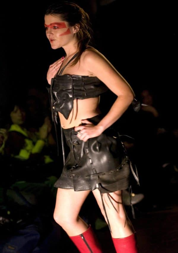 Trash-fashions from Recycled Rubber Recycled Rubber