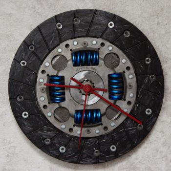 Clutch Plate Into Clock