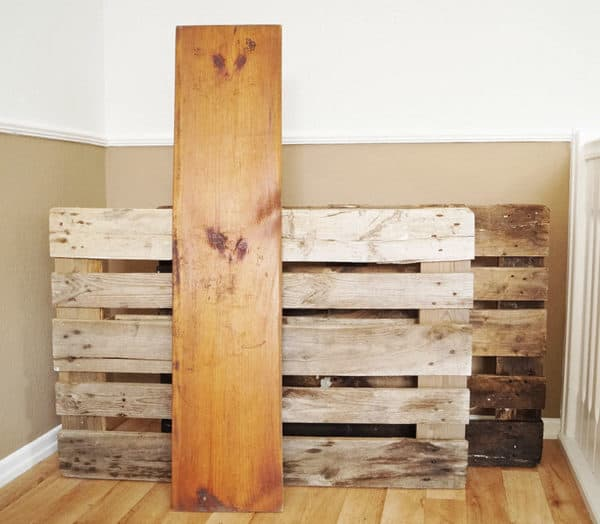 Diy Pallet Coffee Bar Recycled Pallets