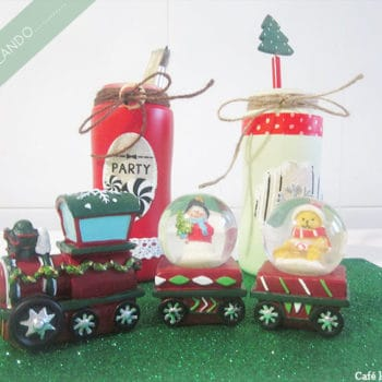 Recycled Baby Bottles as Home Decoration