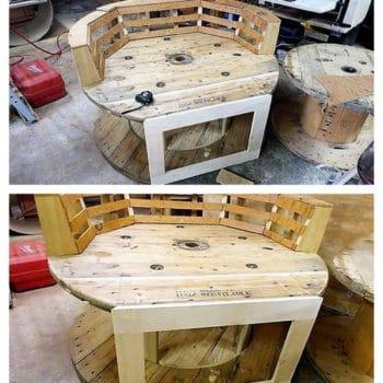Wonderful Build DIY Pallet Oversize Chair
