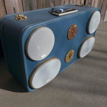 1930's Suitcase Boombox