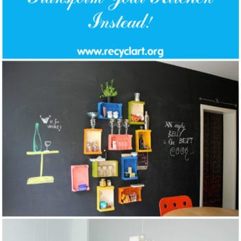 Don't Throw It Away! Transform Your Kitchen Instead!