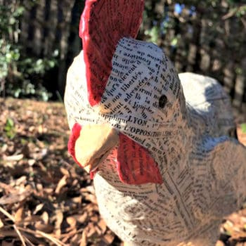 How To Make An Upcycled French Farmhouse Rooster