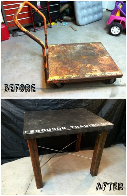 From Industrial Cart to Industrial Table